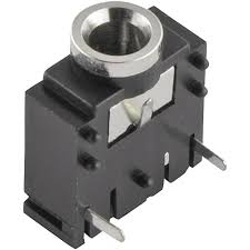 3 5 mm audio jack socket horizontal mount number of pins 3 3 5 mm audio jack socket horizontal mount number of pins 3 stereo silver 1 pc s