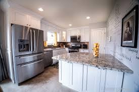 Mocha Shaker Kitchen Cabinets Kitchen Kitchen Remodel Lewis Center Ice White Shaker Kitchen