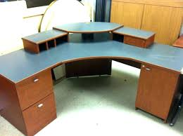 curved office desks. Curved Wood Desk Computer Solid Office De . Desks U