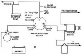 electric fuel pump relay wiring diagram images fuel pump oil pressure switch for elec fuel pump hot rod forum