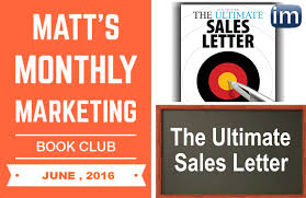 Marketing Book Club The Ultimate Sales Letter