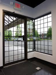 Burglar Bar Door Designs Storefront Window Bars Window Bars Window Security Bars