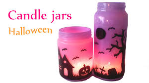 Decorate Jar Candles DIY crafts Halloween decorations CANDLE JARS Lanterns Innova 43