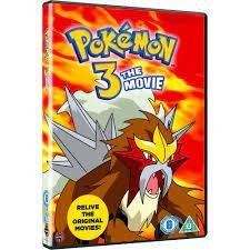 Pokemon 3 - The Movie DVD