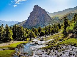The Fann Mountains are a <b>spectacular</b> group of about a hundred ...