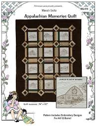 this spy quilt will bring a touch of nostalgia to your decorating using the clic hole in the barn door block as the theme it features embroidered