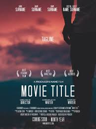 Free Templates For Posters Download Your Free Movie Poster Template For Photoshop Studiobinder