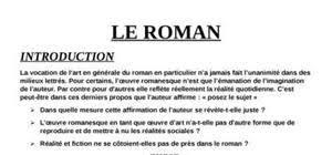 Exemple de dissertation francais