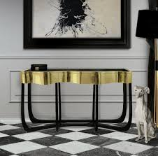 brass console table. Top 3 Bespoke Brass Console Table For Your Living Room 4
