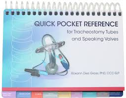 Quick Pocket Reference For Tracheostomy Tubes And