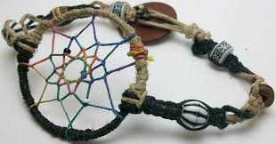 Materials For Making Dream Catchers How to Make a Dream Catcher Bracelet Wasabifashioncult 68