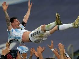 Copa America final against Brazil