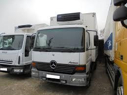 Camion mercedes la 1113 4x4 mannschaftswagen seilwinde neuwertig furgone usato. Mercedes Benz Atego 1217 Refrigerated Truck For Sale Germany Munchen Dj16087