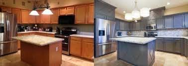 Kitchen Cabinets Refinished 6 Marblecast Of Michigan