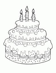 Small Picture Coloring Pages Cake Miakenasnet