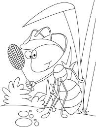 Small Picture 29 best Ant Coloring Pages images on Pinterest Ants Coloring