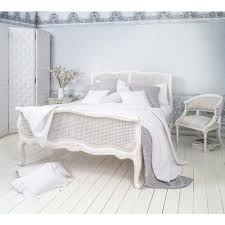 Provencal Bedroom Furniture Provencal White Rattan Bed Luxury Bed