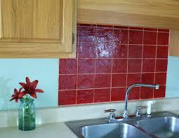 red backsplash tiles faux tile kitchen backsplash tiles . red backsplash  tiles kitchen ...
