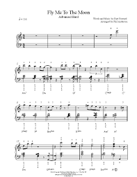 Download frank sinatra fly me to the moon (in other words) sheet music notes that was written for piano, vocal & guitar and includes 4 page(s). Fly Me To The Moon By Frank Sinatra Piano Sheet Music Advanced Level