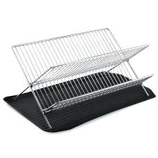 collapsible dish drying rack steel collapsible dish drying rack compact kitchen plate rack foldable wooden dish collapsible dish drying rack
