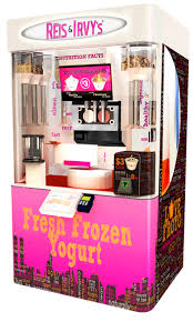 Yogurt Vending Machine Beauteous Your Ultimate Guide On Getting A Frozen Yoghurt Franchise In The UK