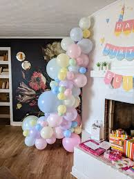 If you have tons of balloons, you may want to opt for the latter. How To Make A Balloon Garland Easy Tutorial For Beginners Merriment Design