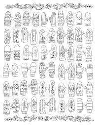 The Mitten By Jan Brett Printables The Mitten Coloring Pages By ...