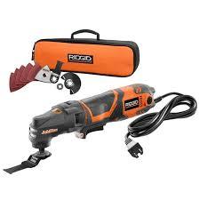 ridgid corded drill. ridgid jobmax 3-amp multi tool starter kit-r28600 at the home depot ridgid corded drill