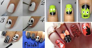 Decorative Nail Art Designs 100 Best Halloween Nail Art Inspirations for 100 28