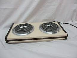 toastmaster electric dual double burner buffet range stove hot plate rh pic com 2 burner electric