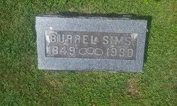 Burrel Sims Jr. (1849-1930) - Find A Grave Memorial