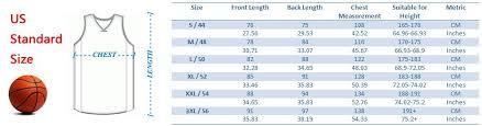 Nba Replica Jersey Size Chart Nike Nba Jersey Size Chart Bedowntowndaytona Com