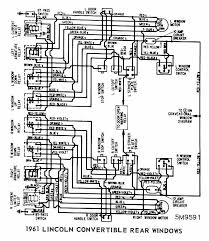 fordcar wiring diagram page 16 rear windows wiring of 1961 ford lincoln convertible