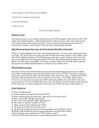 Example Research Proposal Format Apa