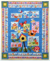 Free Applique Quilt Patterns & Pattern courtesy of Andover. Bug A Boo Quilt Pattern. Adamdwight.com