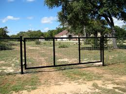 farm fence gate. Gates Entrances Texas Ranch Style Hill Country Village Farm Fence Gate