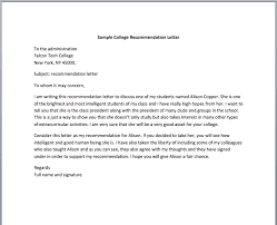 Letter Of Recommendation For Nursing School Recommendation Letter For Nursing School Smart Letters