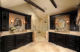 traditional bathrooms designs. Gorgeous Use Of The Corner Area In Traditional Bathroom [Design: Davida\u0027s Kitchen \u0026 Bathrooms Designs D