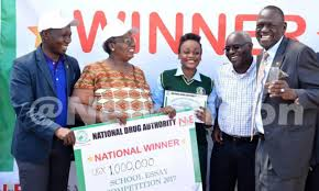 the best way to treat drug abuse is prevention dr ndyanabangi  dr ndyanabangi second right and nda officials pose one of the essay competition winners credit peter saava drug abuse essay competition