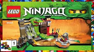 LEGO instructions - Ninjago - 9558 Training Set (Book 1) - YouTube