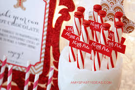 Candy Cane Theme Decorations Gingerbread Decorating Party 38