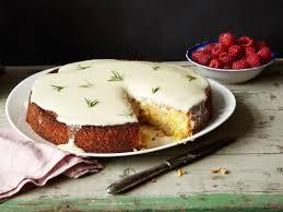 Almond Cake with Lemon and Cr¨me Fra che Glaze Recipe
