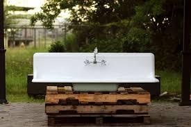 vintage farmhouse sink