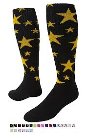 Red Lion Star Knee High Socks