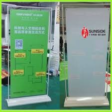 Aluminium Display Stands Unique Aluminium Roll Up Display Door Shape Roll Up Banner Stand Show Buy