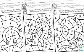 Color by letters coloring pages. Color By Letter Fun With Mama