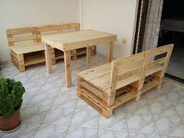 turning pallets into furniture. Pallet Furniture Idea How To Build Diy Bench And Table . Turning Pallets Into