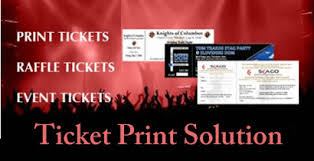 Event Ticket Printing Software Eloquent Prints Event Ticket Printing Company In Nigeria Raffle