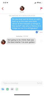 the best tinder pick up lines