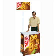 Promotional Stands Displays Interesting PB Promotion Counter Budget POS Stands